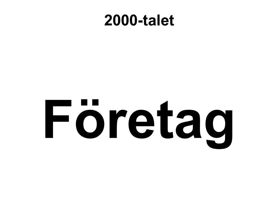 Företag 2000-talet