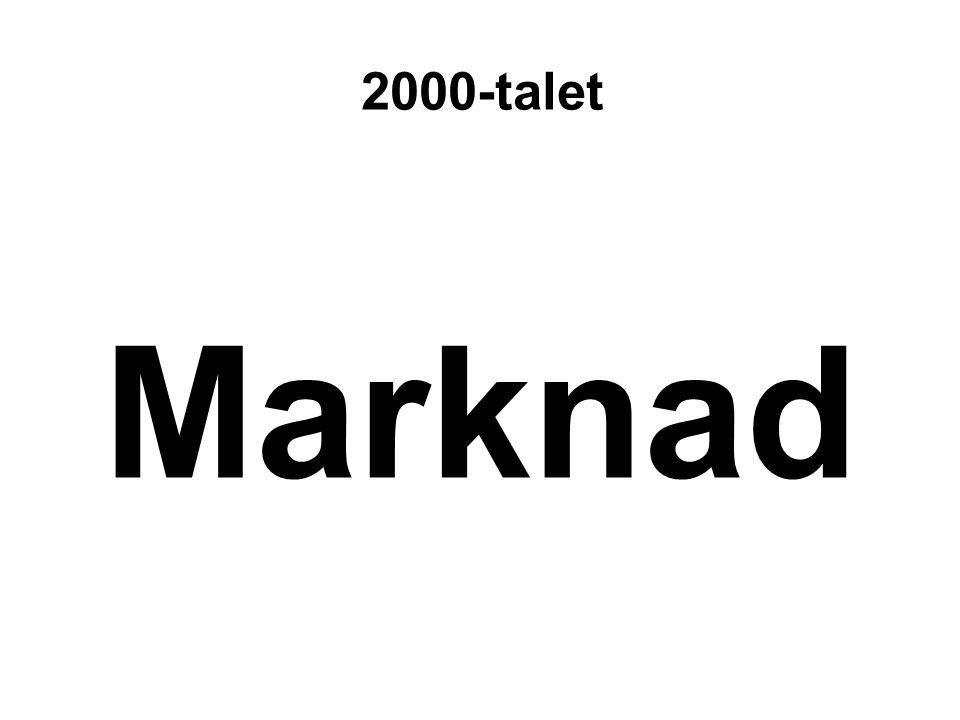 Marknad 2000-talet