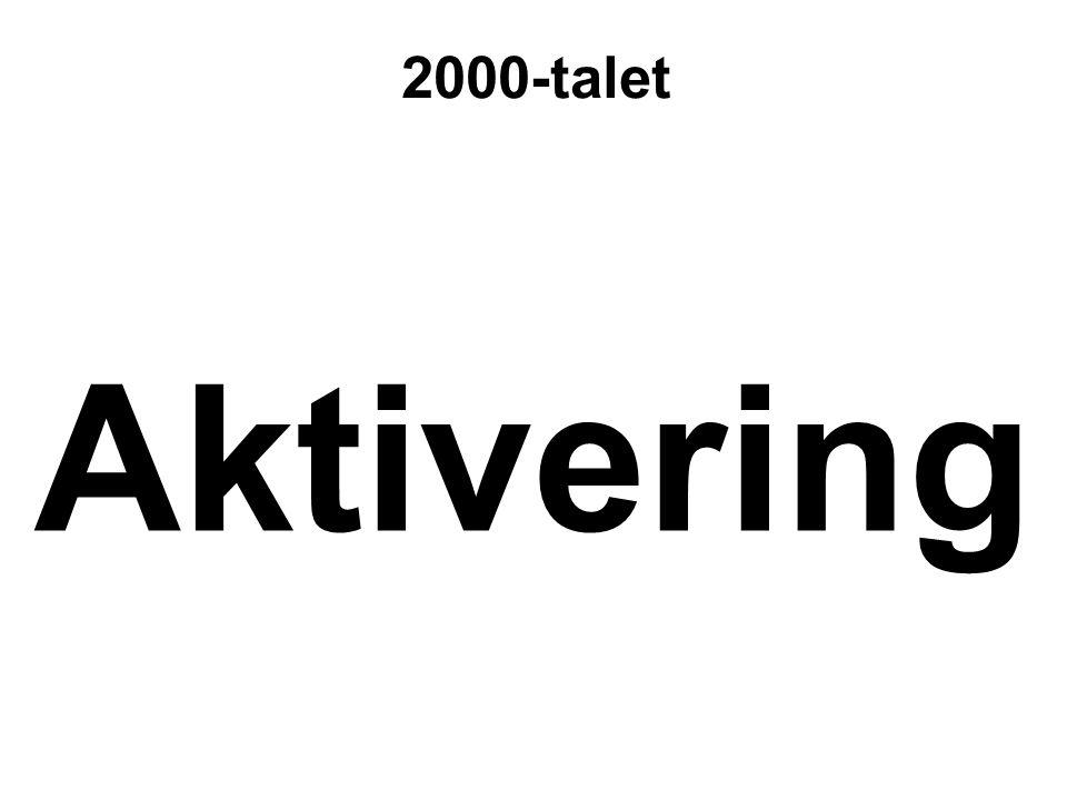 Aktivering 2000-talet
