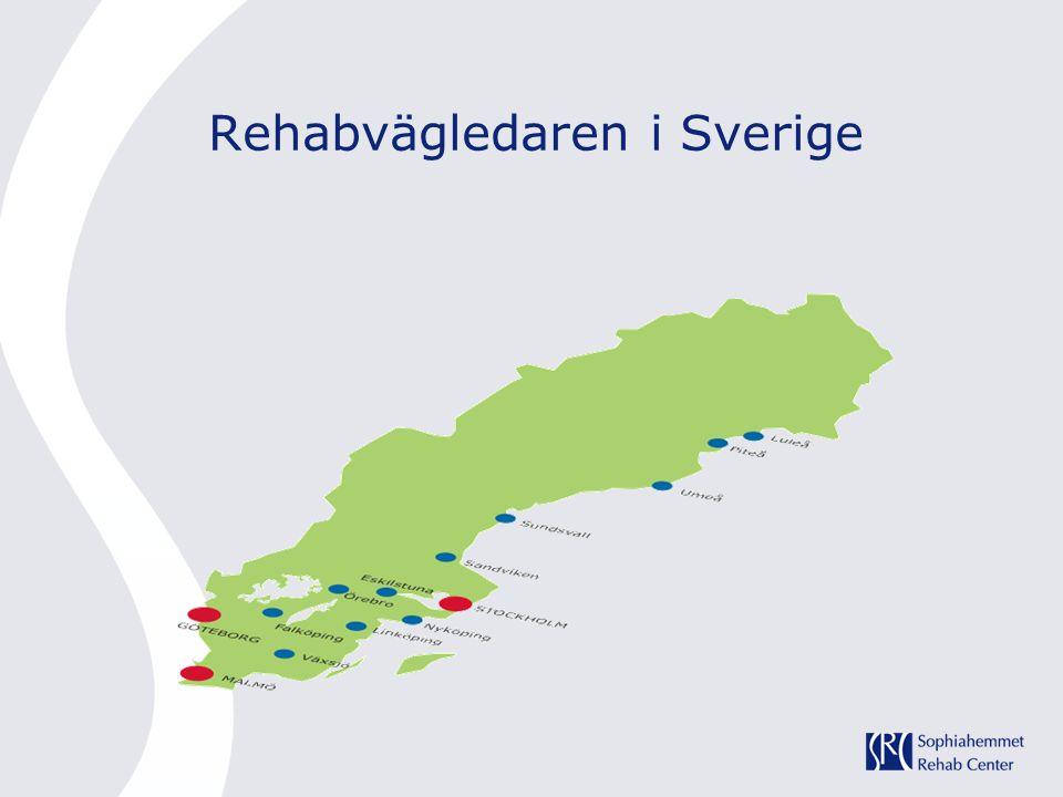 Rehabvägledaren i Sverige