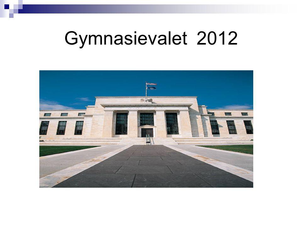 Gymnasievalet 2012