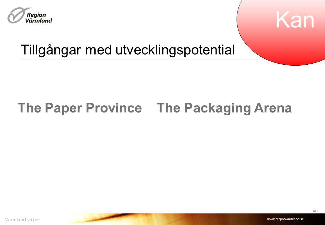 www.regionvarmland.se Värmland växer Tillgångar med utvecklingspotential Compare IT HA Kan