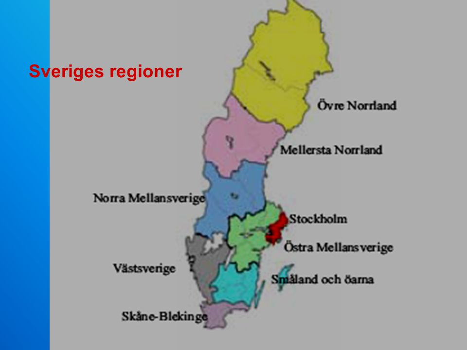 Sveriges regioner