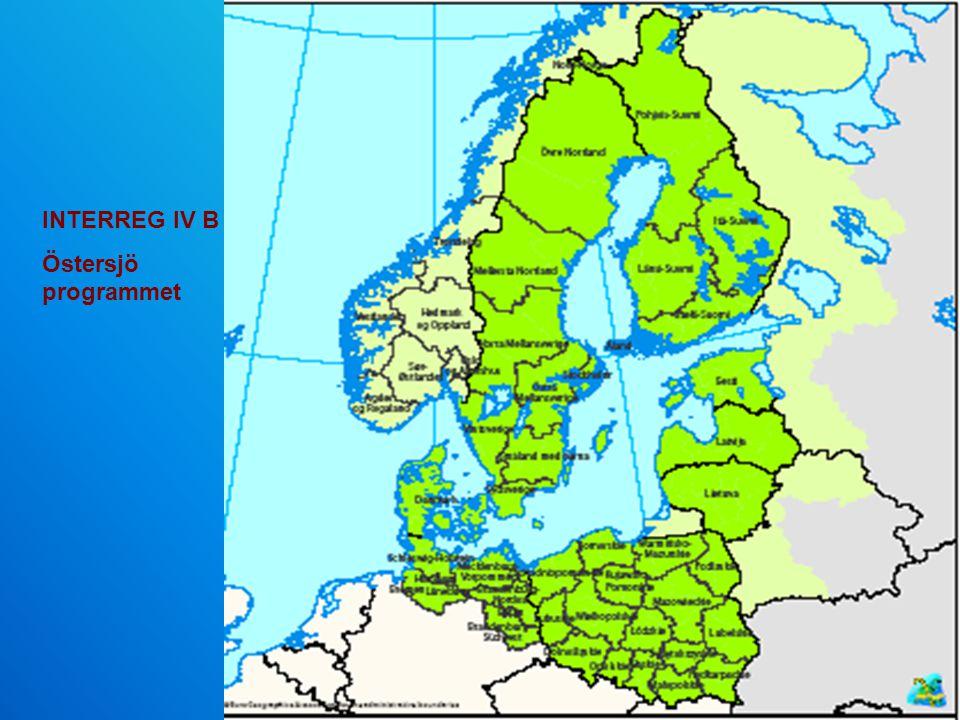INTERREG IV B Östersjö programmet