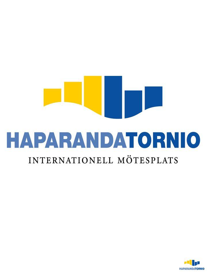 KUNSKAP KOMMUNIKATIONER HAPARANDA- TORNIO MÖTESPLATSEN HANDELSCENTRUM TRIVSEL/ LIVSKVALITET CENTRUM FÖR INDUSTRI OCH FÖRETAGSAMHET Vision 2010 Haparanda-Torneå är ett internationellt centrum i Bottenviksbågen och Barentsområdet; en mötesplats för kultur, kunnande, varuflöden, innovation och människor.