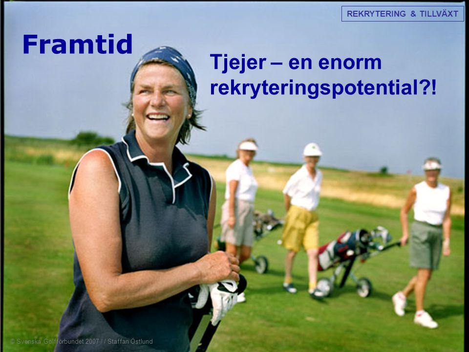 Framtid Tjejer – en enorm rekryteringspotential?! REKRYTERING & TILLVÄXT © Svenska Golfförbundet 2007 / / Staffan Östlund