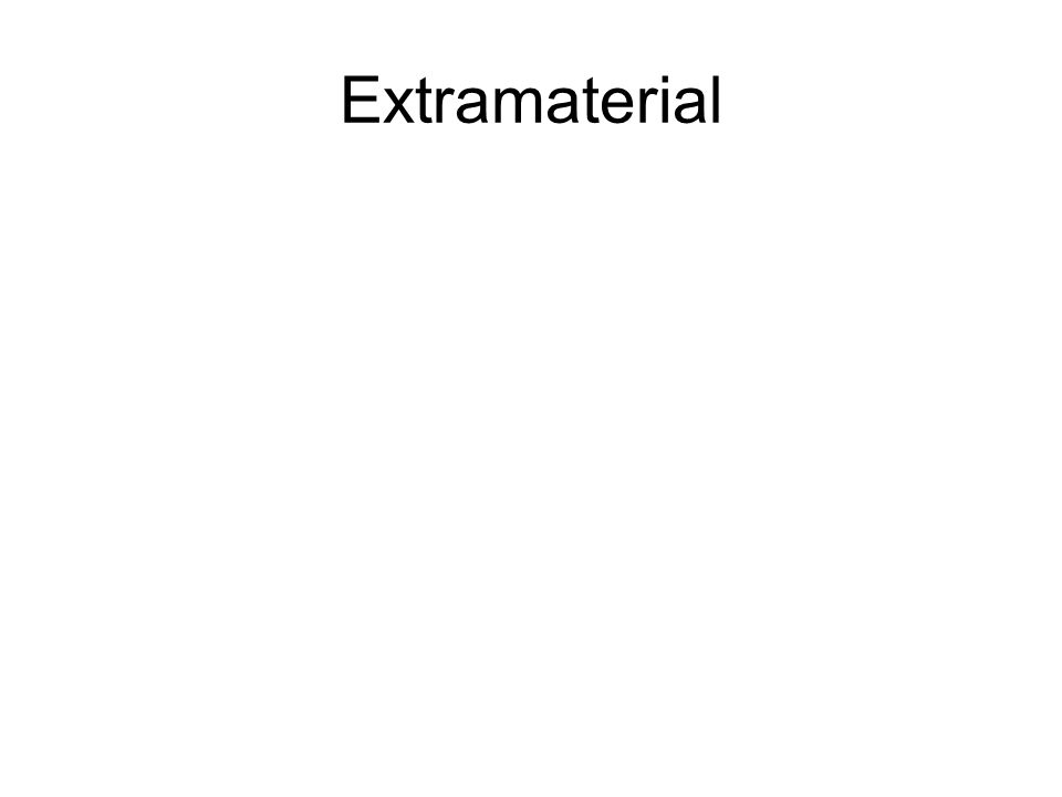 Extramaterial