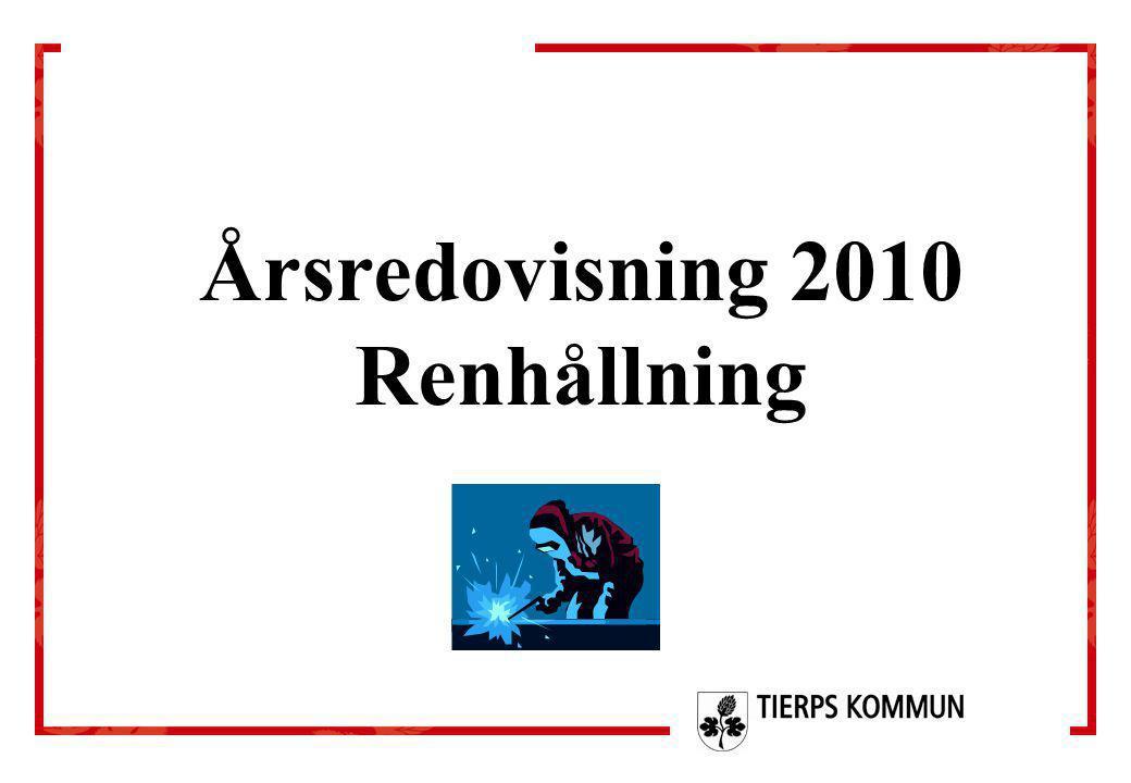Årsredovisning 2010 Renhållning