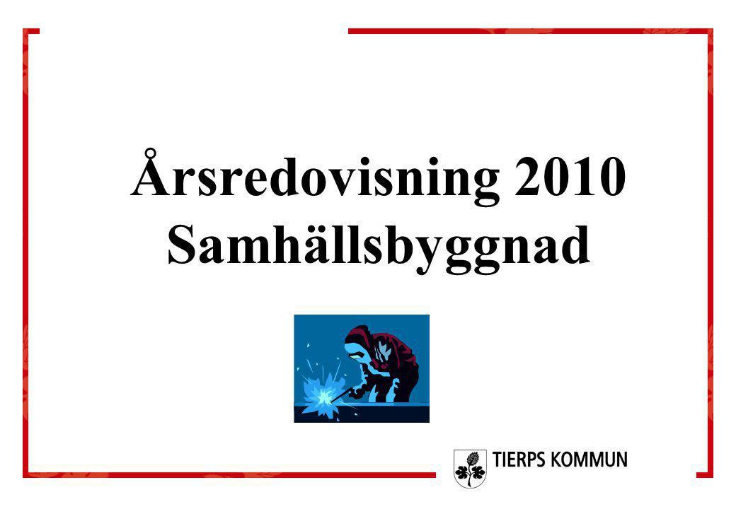 Årsredovisning 2010 Samhällsbyggnad