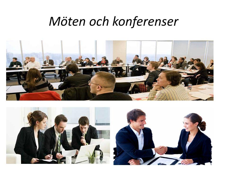 Möten och konferenser