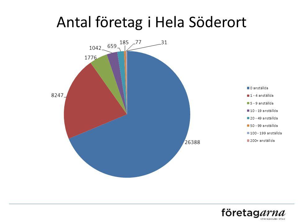 Antal företag i Hela Söderort