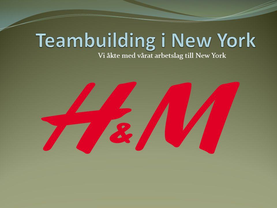 Varför åker vi på teambuilding?
