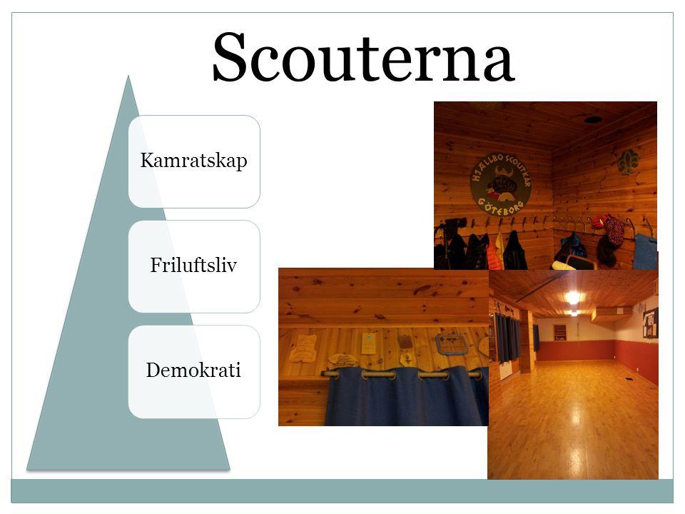 Scouterna KamratskapFriluftslivDemokrati
