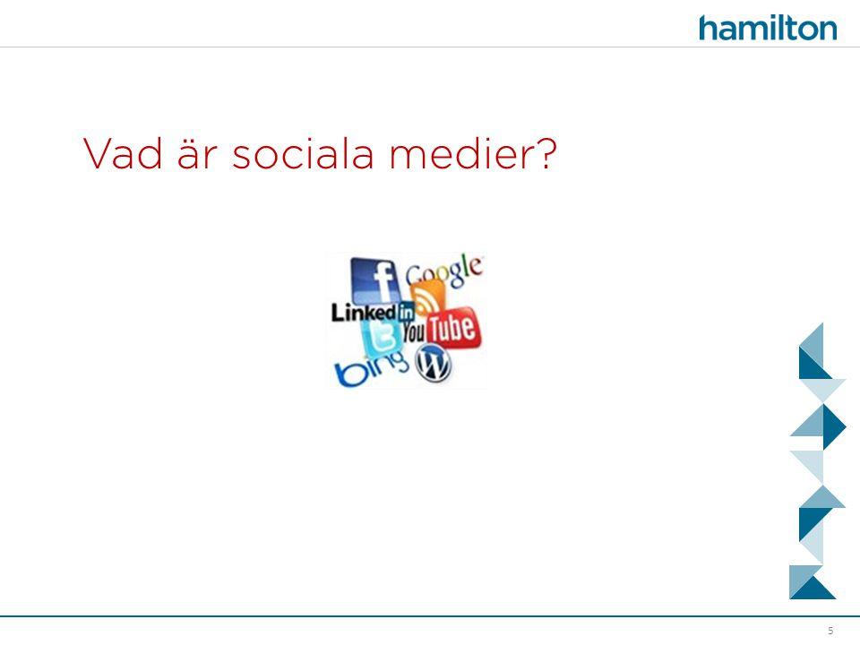 Vad är sociala medier? 5