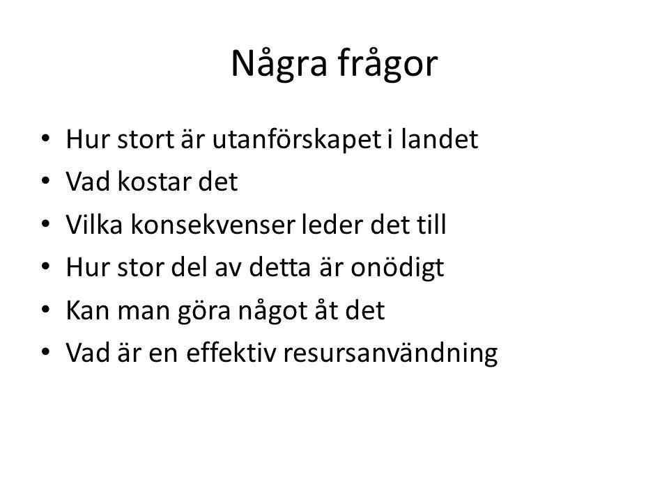 Årliga socioekonomiska effekter i svenska kronor på individnivå av Navigatorcentrums verksamhet vid antaganden om 10 procents spontantrehabilitering och 30 procents framgång i projektet