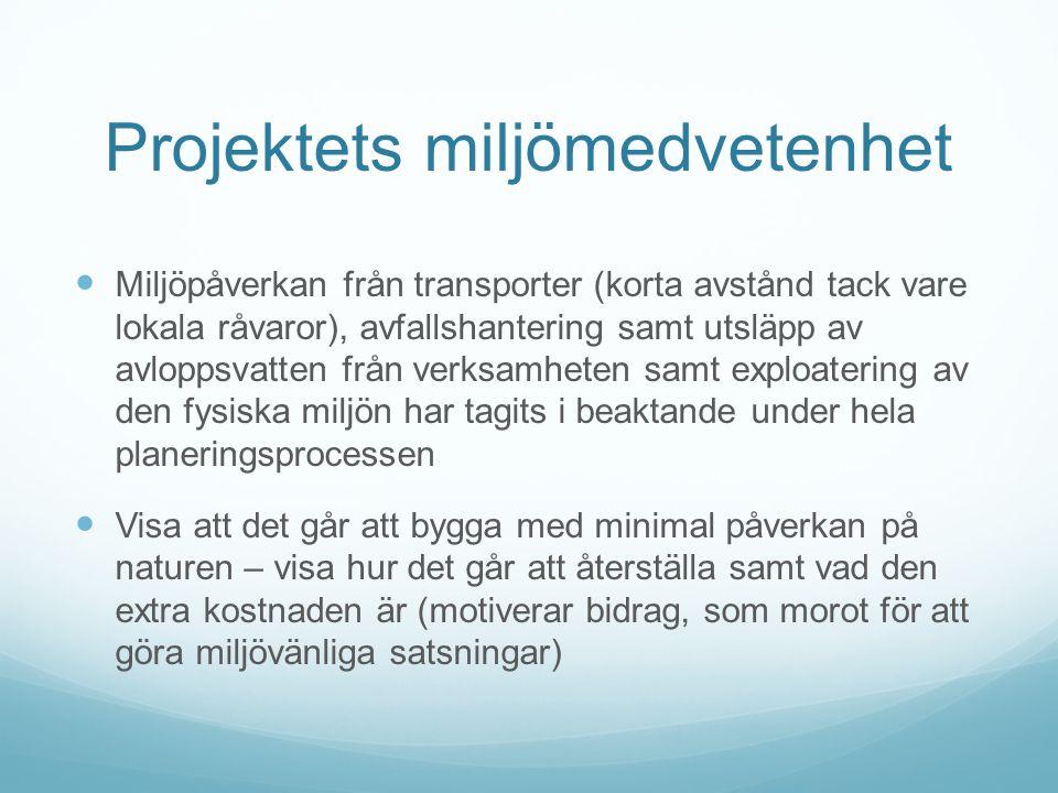 Tekniskt föredöme  Åland och speciellt små kommuner som Sottunga är exempel på mikrosamhällen, som kan visa på mycket bra exempel vid olika utvecklingsprojekt samt utgöra bas för olika experiment, t.ex.