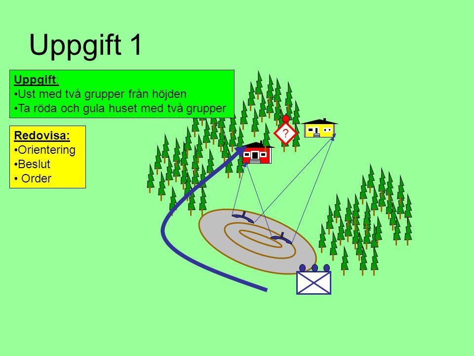 Budskap Fältarbeten •Litterera mineringarna, M1, M2, M3 på oleat eller karta vilket förenklar ordergivning samt rapportering •Ange antalet minor och mintändare för mineringen.
