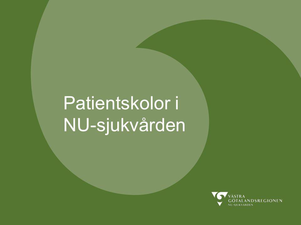 Patientskolor i NU-sjukvården