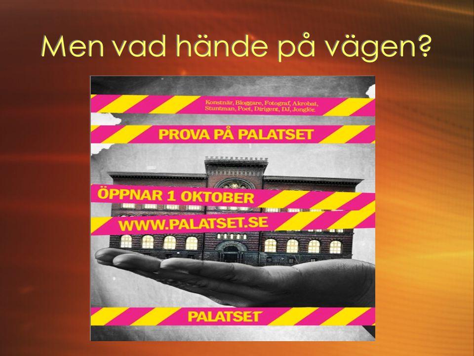 Palatsets MÅL och kännetecken.