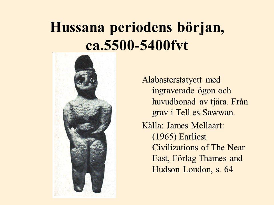 Hacilar, 5600 fvt Statyett i bränd lera.En naturalistisk Moder(gudinna)figur.