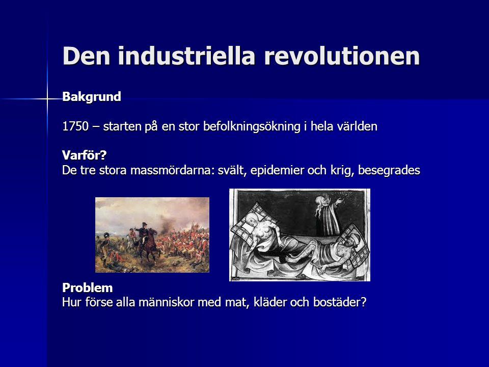 Den industriella revolutionen Revolution.