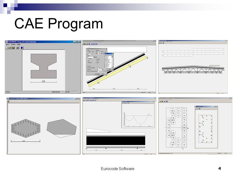 Eurocode Software4 CAE Program