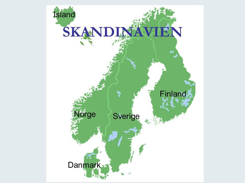 SKANDINAVIEN Sverige Norge Finland Danmark Island