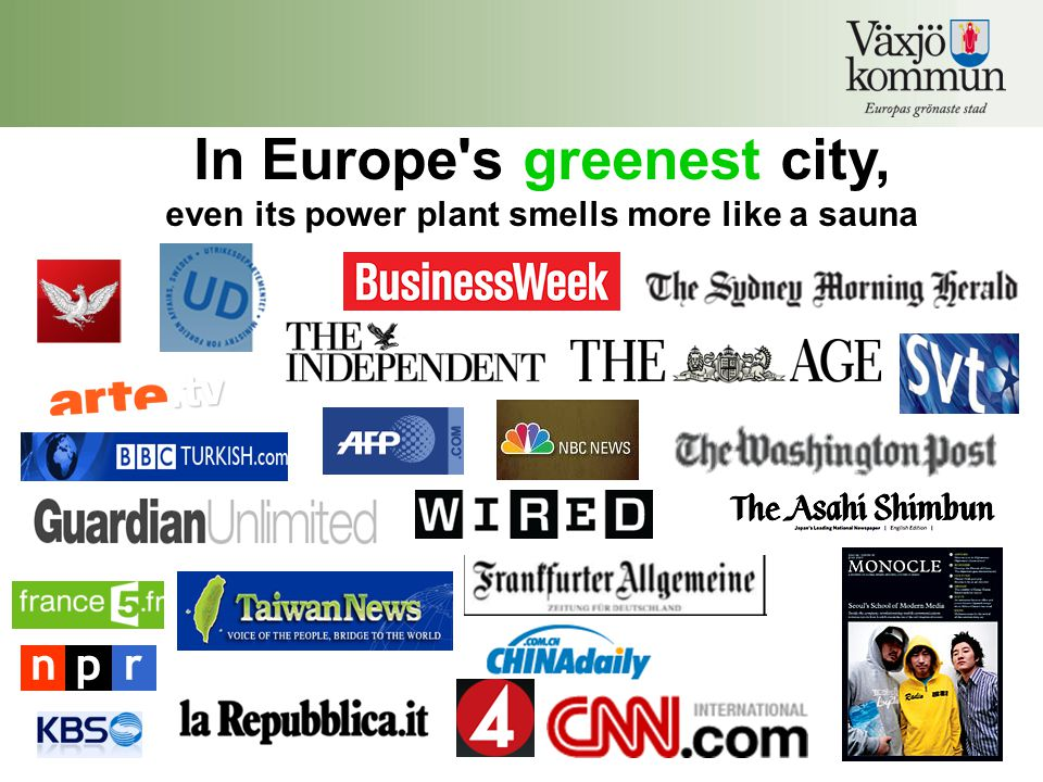 In Europe s greenest city, even its power plant smells more like a sauna