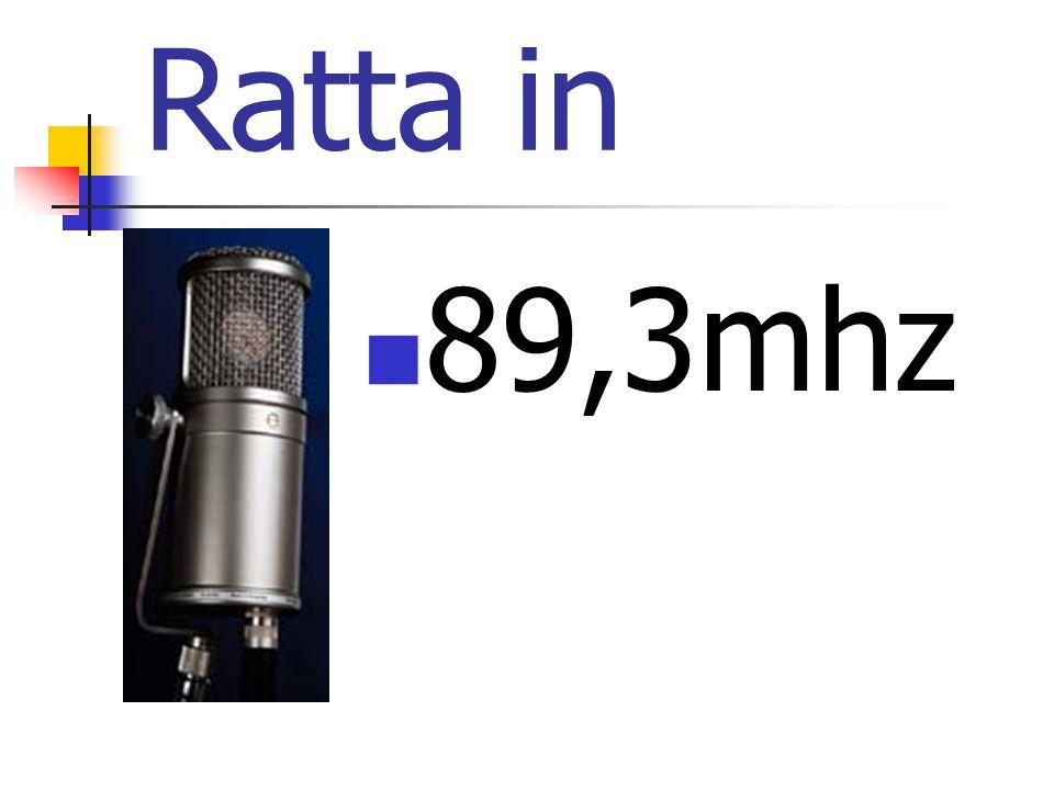 Ratta in  89,3mhz