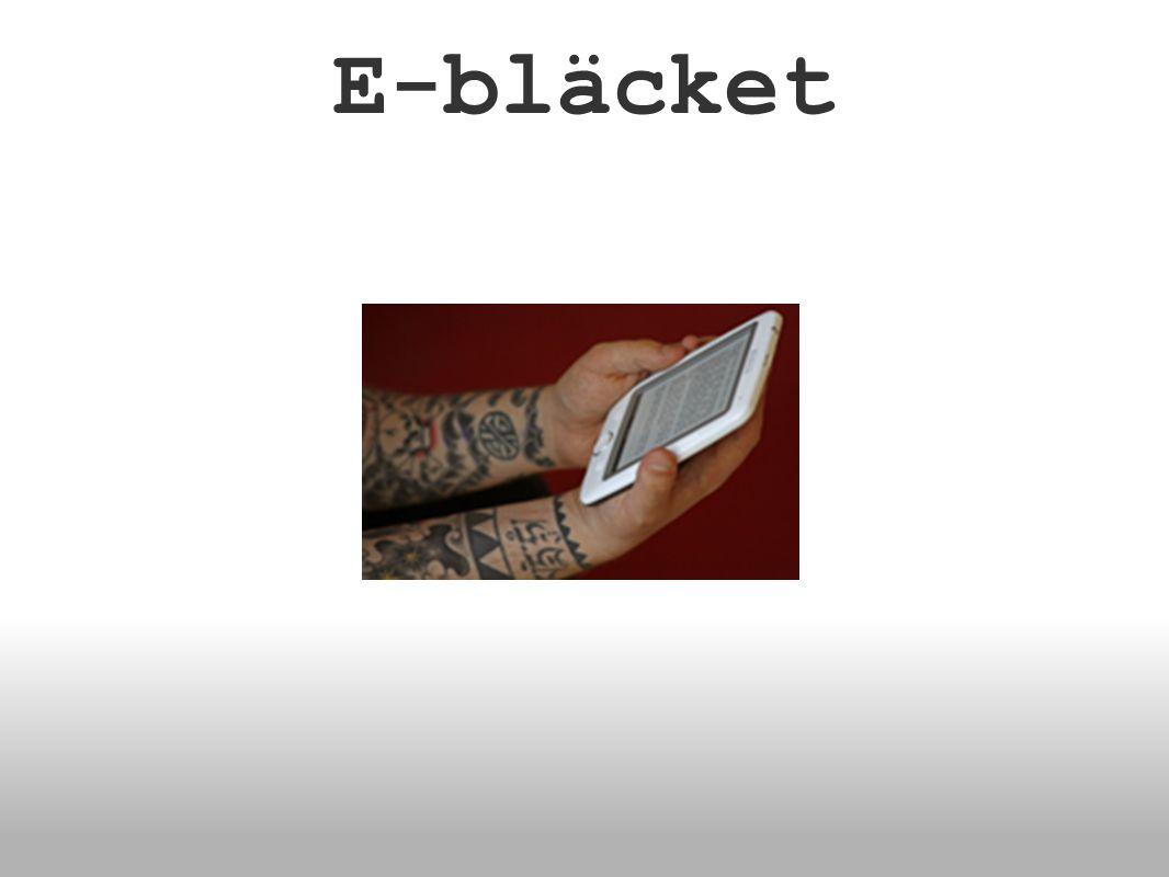 E-bläcket
