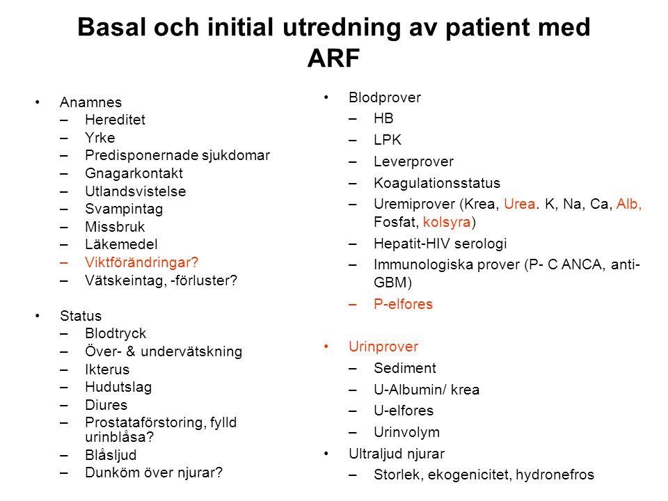 Urinsediment - diagnostiskt hjälpmedel •Cylindrar - Inflam.