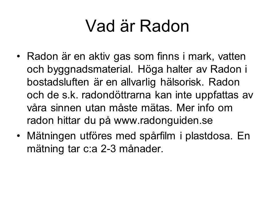 Ytterliggare info •Då det gäller Radonfrågor konkret i Laxå vill vi i första hand hänvisa till Laxå kommun och Eva Johansson, Miljö och hälsoskyddssektionen tfn.