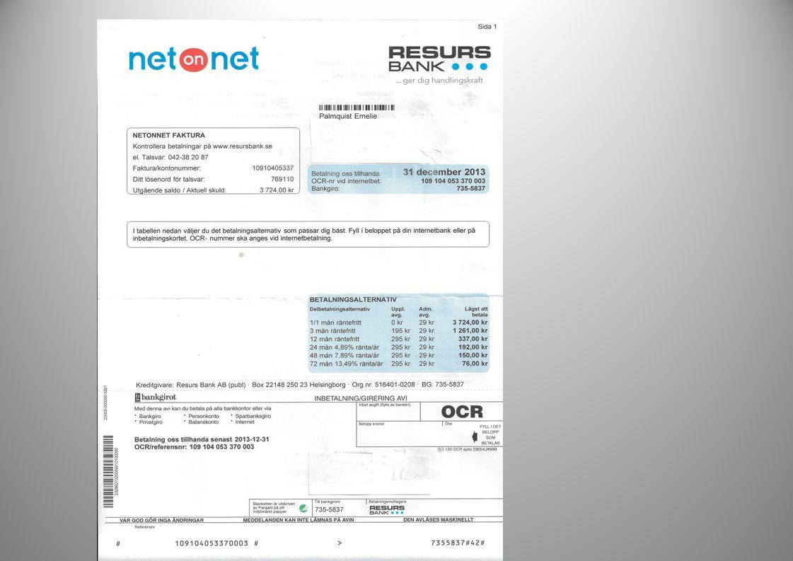 Steg för steg Kronofogden •+640 kr Amorteringsplan •+ 150 kr Ansökan om utmätning •+ 600 kr