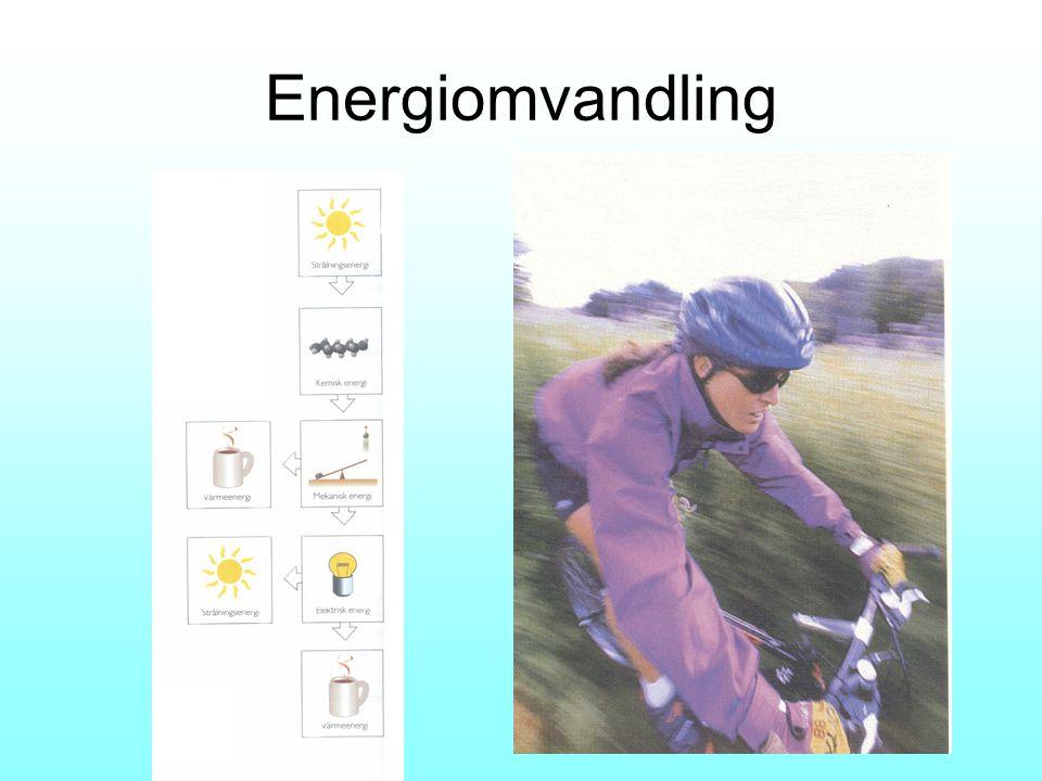 Strålning –– Rörelse – Elektrisk + Miljövänlig Små ingrepp Tillänglig - Naturingrepp Helst kust och Fjäll Effekt beroende av vindstyrka Sverige Litet utbyggt Stor utbyggnad på gång