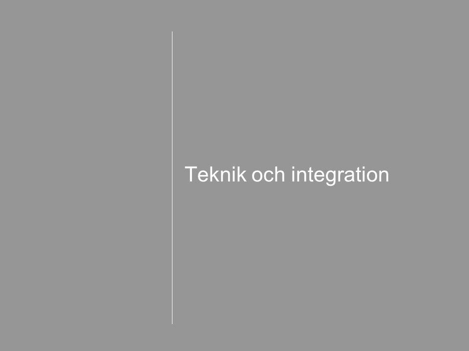 Teknik och integration