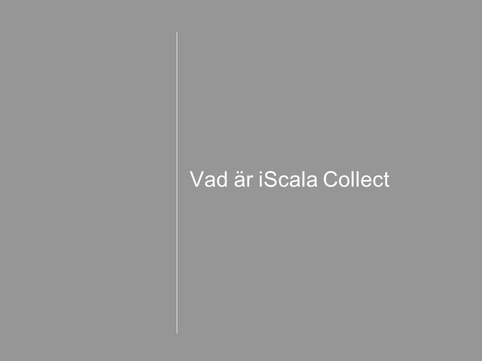Vad är iScala Collect