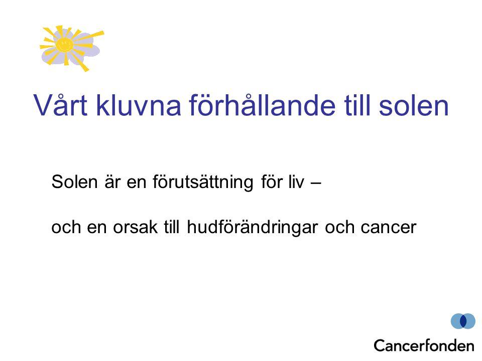 Vårt kluvna förhållande till solen Solen är en förutsättning för liv – och en orsak till hudförändringar och cancer