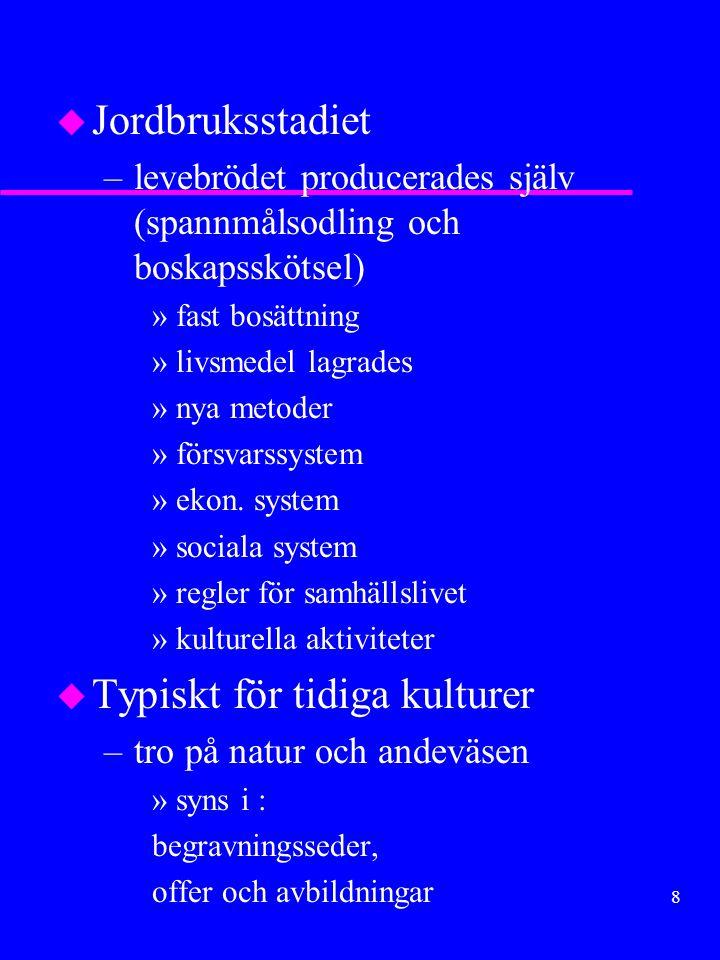 58 Vikingatågen u Nordmännen stod utanför folkvandringarna men började röra på sig på 800-talet (handels-, plundringsfärder) Orsaker: –jordbrist –arvsregler –uppkomsten av kungadömen –Europas lockelser Förutsättning: –havsgående skepp