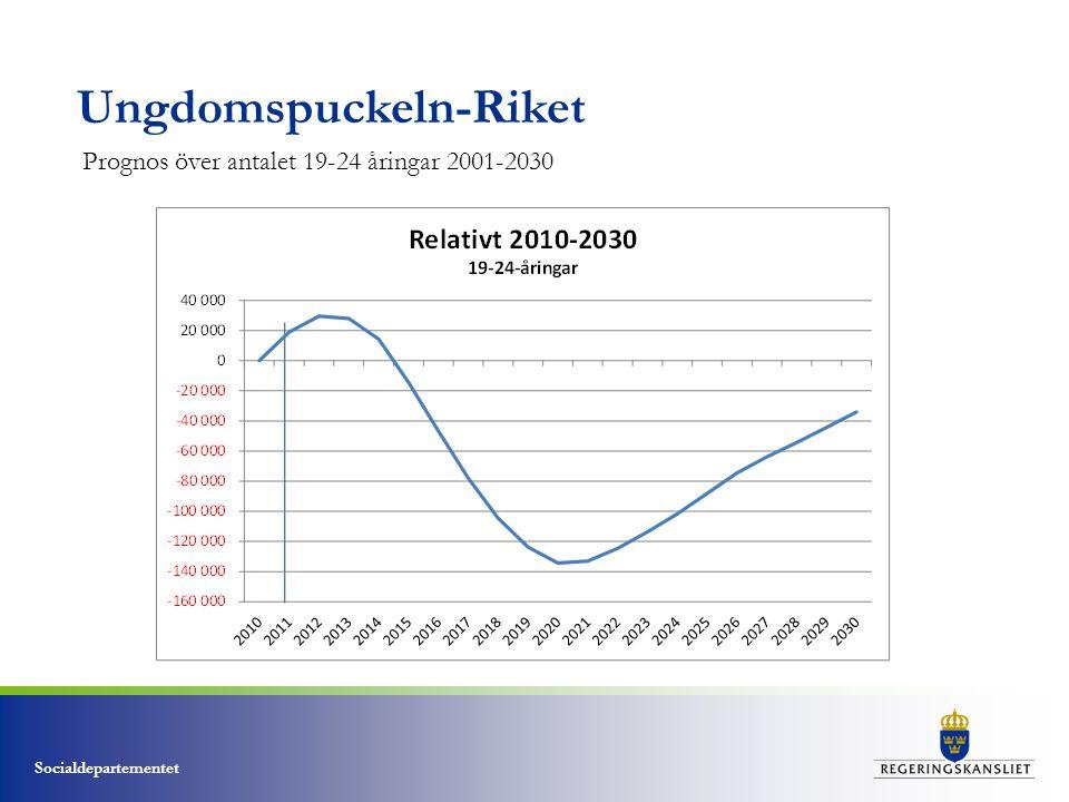 Socialdepartementet Nuläge- Studentbostadsmarknaden • 25 % bor i studentbostäder.