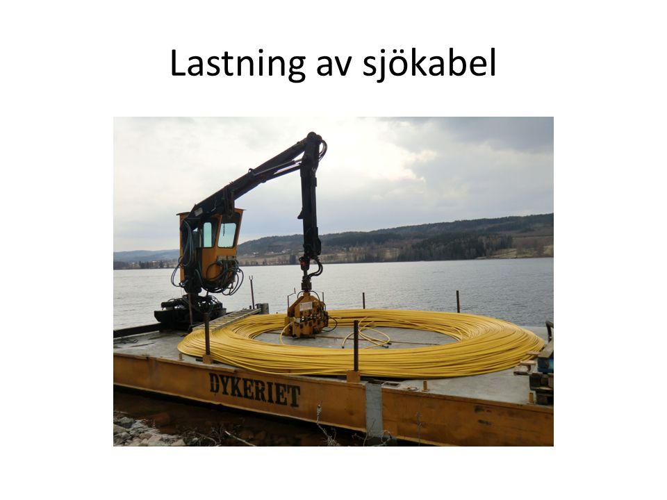 Lastning av sjökabel