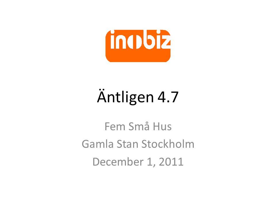 Äntligen 4.7 Fem Små Hus Gamla Stan Stockholm December 1, 2011