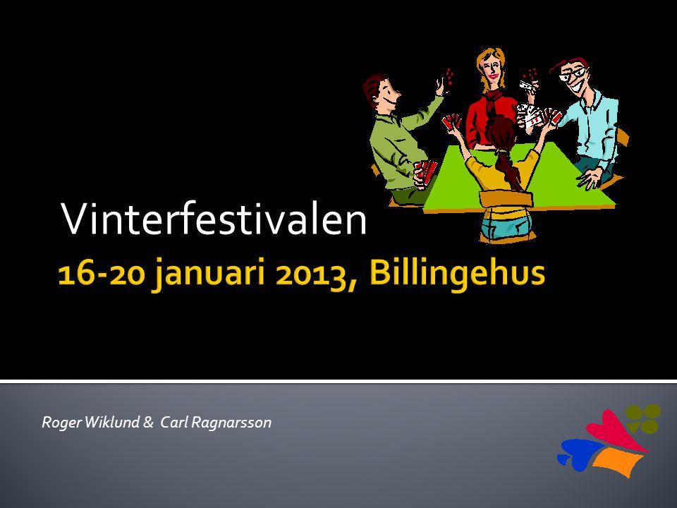 Vinterfestivalen Roger Wiklund & Carl Ragnarsson