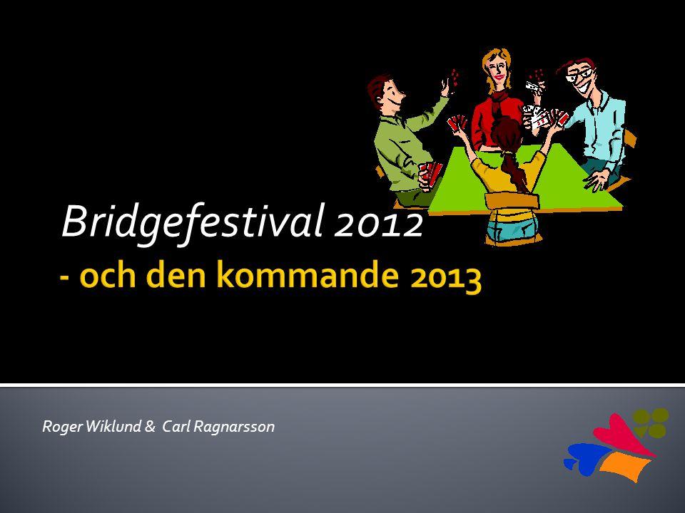 Bridgefestival 2012 Roger Wiklund & Carl Ragnarsson