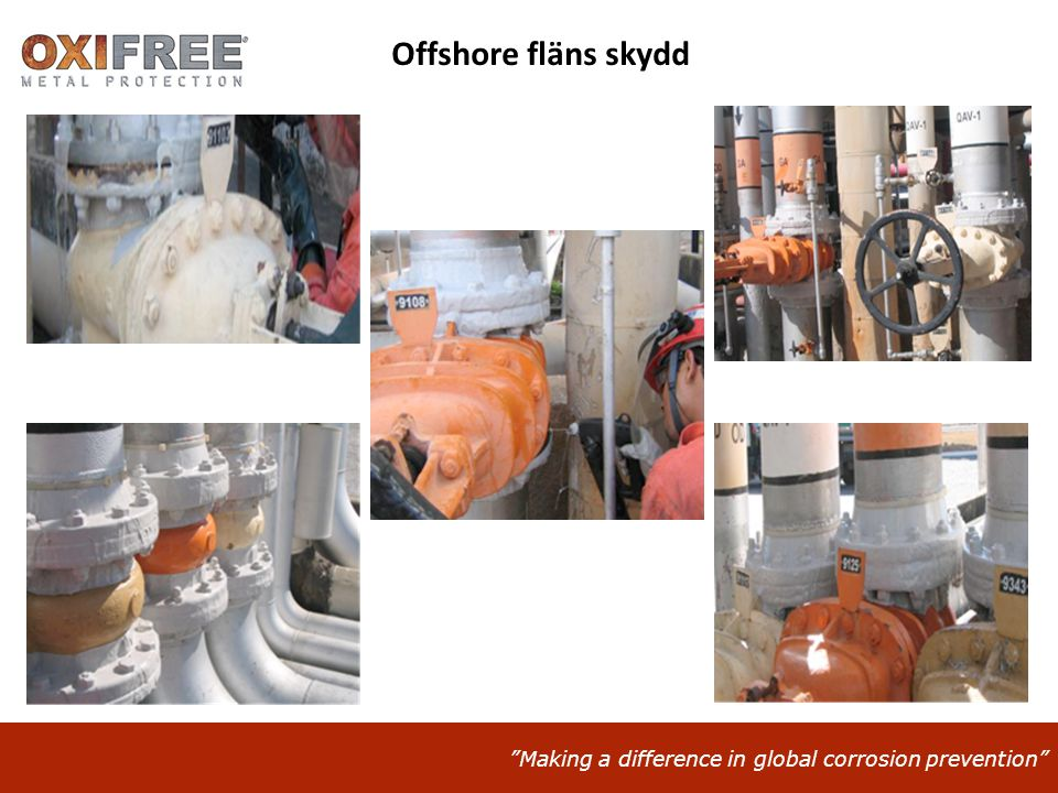 Making a difference in global corrosion prevention Offshore fläns skydd
