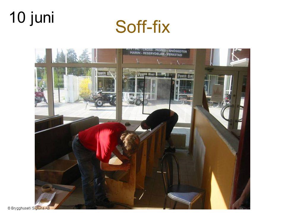 Soff-fix 10 juni © Brygghuset i Sigtuna AB