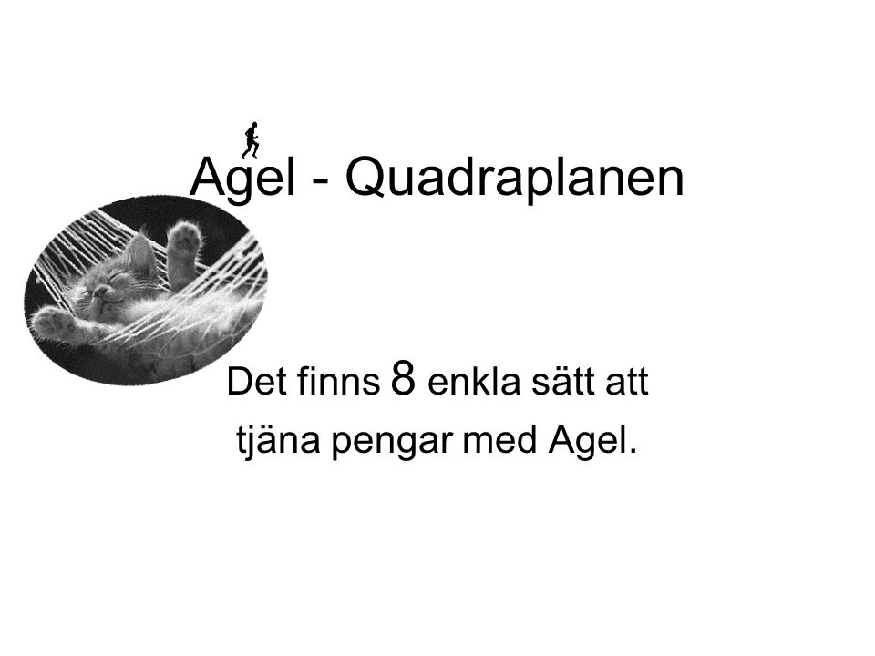 Agel - Quadraplanen Det finns 8 enkla sätt att tjäna pengar med Agel.