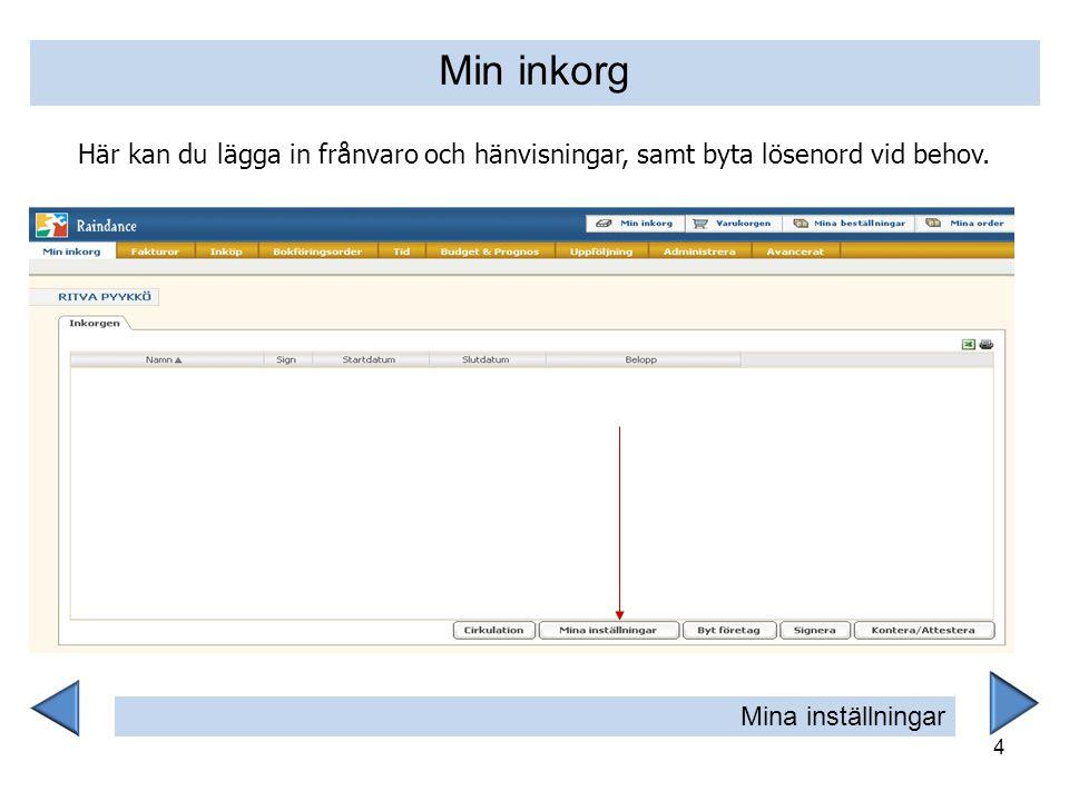 15 I presentationsdelen klickar du på artikelns namn för att få upp mer information.