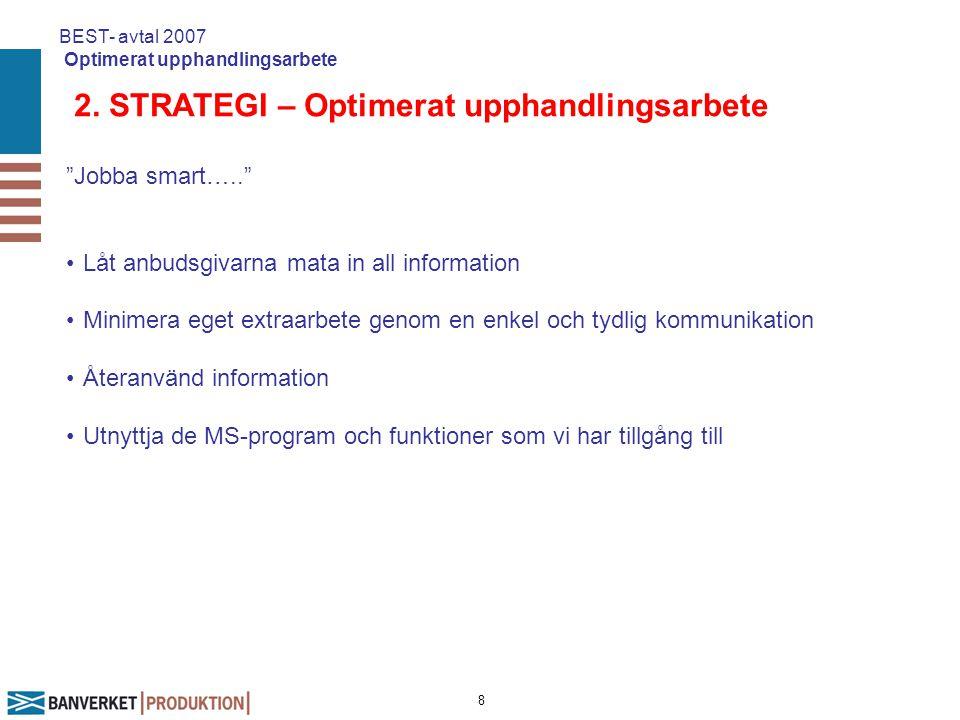 9 Dokumentstruktur BEST- avtal 2007 Optimerat upphandlingsarbete Anbudsmall Förutsättningar för ramavtal Anbudsinfordran Pris och kompetensbilaga Huvudavtal Tips: Engagera SPRÅKVÅRDARE!