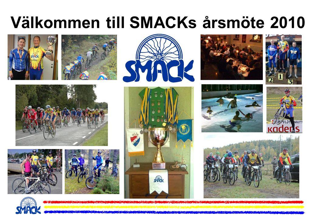 SMACK / Wäsby MTB - MTB-serie 2010 •Tio deltävlingar från 15 april till 18 september på olika banor i Märsta, Sigtuna, Väsby •Alla kör samma bana vid varje deltävling men man kan välja att köra färre varv •Programmet är klart men ska samordnas med Wäsby MTB-klubb, andra klubbserier, MTB Sthlm och ev.