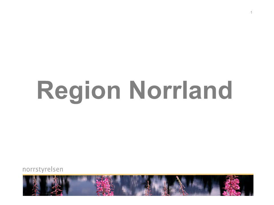 12 Vilka vinster ger Region Norrland.